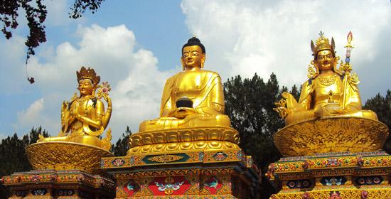 Explore Nepal: Buddha Statue at Swoyambhu