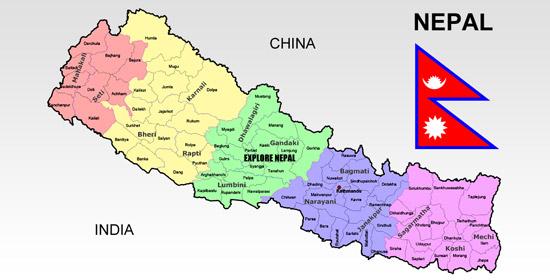Explore Nepal: Map