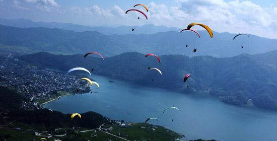 Explore Nepal: Paragliding
