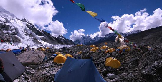 Explore Nepal: Trekkers Camping